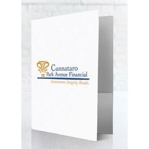Economy Pocket Folder Free Set Up 3 Full Color Imprints
